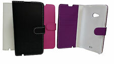 FLIP LEATHER WALLET BOOK CASE CARD HOLDER COVER FOR MICROSOFT NOKIA LUMIA 535