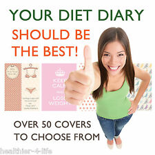 NEW AND PERSONALISED DIET DIARY/BOOK/NOTEBOOK/ WEIGHT LOSS/JOURNAL/ SLIMMING