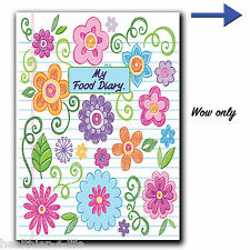 FOOD DIARY DIET DIARY LASTING 3 MONTHS/TRACKER/WEIGHT LOSS/JOURNAL/ SLIMMING