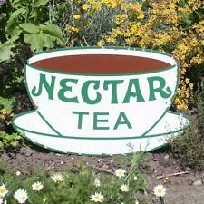 Nectar Tea Vintage Style Advertising Sign, Old Rusty Sign, Retro Kitchen Sign