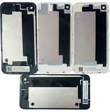 Back Glass Rear Housing Plate Panel Door For iPhone 4G 4 & iPhone 4S Black White