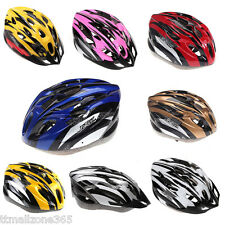 18 Vents Ultralight Ciclismo Casco con visiera Mountain Bike della bicicletta TZ