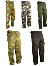 Mens Military Combat Trousers Camouflage Army Police Pants Airsoft Work