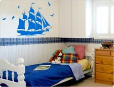 "Wandtattoo Kinderzimmer 11249  ""Piratenschiff"" Wanddekoration"