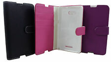 FLIP LEATHER WALLET BOOK CASE CARD HOLDER COVER FOR SONY XPERIA E4G E4G