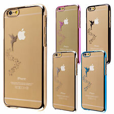 Apple iPhone 4 4s 5 5s 6 plus custodia rigida protettiva case cover fata