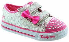 SKECHERS 10284 SHUFFLES BOW TWINKLE TOES SHOES