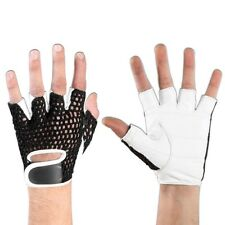 Breathable Bicycle Half Finger Mesh Mountain Cycling Gloves Sports Racing Mitts