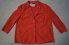 SAMOON by GERRY WEBER Jacke / Blazer Gr.46, 52, 54 Stretch orange-pfirsich*NEU!*