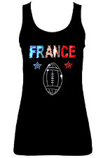 FRANCIA FRANCESE SPORT RUGBY CANOTTE ( CON GEMME) all taglia UK8 - 16