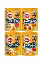 Pedigree Tasty Bites - 4 different types and flavours - Great training treats!