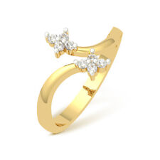 0.13 Cts Corona 18K IGI Certified Diamond  Ring # DIA2459