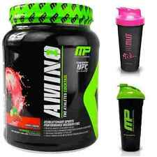 MUSCLEPHARM AMINO 1 BCAA's - 427g - 32 SERVINGS + MP SHAKER CUP- ALL FLAVOURS