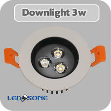3w LED Ceiling lights Angle Adjustment Recessed Spotlights,SMD chip-Transformer