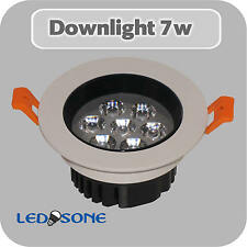 7w LED Ceiling Downlights Angle Adjustment Recessed Spotlights, with Transformer