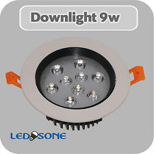 9w LED Ceiling Downlights Angle Adjustment Recessed Spotlights, with Transformer