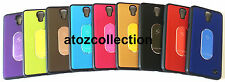 Back Cover Case for Sony Xperia Z Ultra XL39h C6802 C6806 C6833 + Tempered Glass