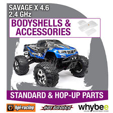 HPI SAVAGE X 4.6 2.4GHz [Body Shells] Genuine HPi Racing R/C Parts!