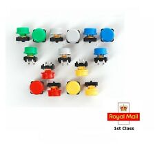 12x12x11mm Panel PCB Momentary Tactile Push Button Switch  with CAP  5/10/20 PCS