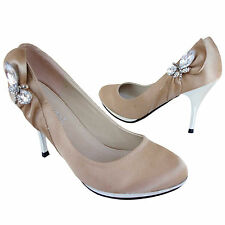 Damen Designer High Heels Plateau Pumps Stilettos Schuhe Gr 36 37 38 39 40 41