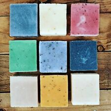 Handmade soap Herbal Traditional cold process organic castile soaps  Made In UK