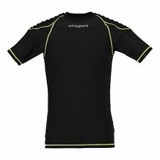 Uhlsport Funktionsshirt Torwart Tech Baselayer Kurzarm Herren [Schwarz]