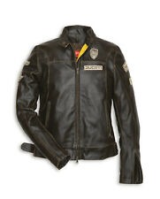 DUCATI HISTORICAL ´ 13 Giacca Pelle Donna Giacca Giacca Di Pelle LADY NUOVA