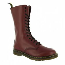 Dr Martens 1914z Mid-calf Leather Boots Cherry Red