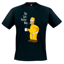 The Simpsons The Last Perfect Man T-Shirt - Homer Simpson Matt Groening Bart Kaf