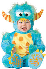 Costume Carnevale Mostro Incharacter 0-4T Halloween Baby Costume Monster 0-4T