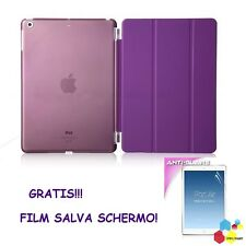 SMART COVER MAGNETICA IPAD 2 3 4 5 + COVER POSTERIOR ULTRA SOTTILE + FILM GRATIS