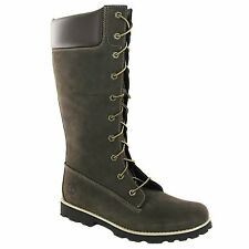 TIMBERLAND 83982 BROWN LEATHER JUNIOR - WOMENS BOOTS
