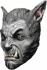 Silver Wolf Beast Full Head Latex Halloween Mask by Ghoulish Productions