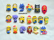 MINION DESPICABLE ME  LOOM BAND,CROC,JIBBITZ ,SHOE CHARMS,BRAND NEW,
