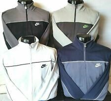 Mens Nike Zip Up Sweatshirt Jacket Tracksuit Top Hood Sports Casual