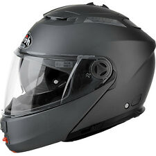 CASCO HELMET MODULARE AIROH PHANTOM S COLOR ANTHRACITE MATT ANTRACITE OPACO MOTO