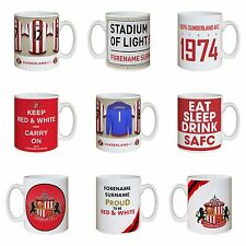 Personalised SUNDERLAND FC Football Club Mugs Gift Ideas for Fans