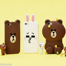 Bear Cony rabbit Luxury Back Cover Case Apple iPhone 5/5s/6/6s/6 plus/6s Plus