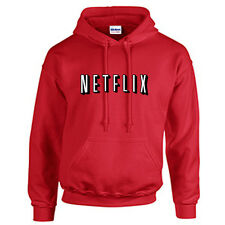 Netflix Movie Hoodie Funny Humor Movie Night Netflix and Chill Hooded Sweatshirt