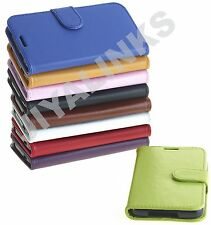 WALLET CASE COVER PU LEATHER FOR SAMSUNG GALAXY S5 S6  & S6 EDGE 9 COLOR