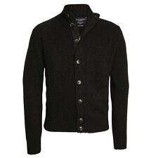 Hackett Chunky Button Cardigan, Navy