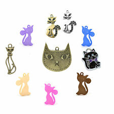 One cat charm from wide selection, discount for quantity