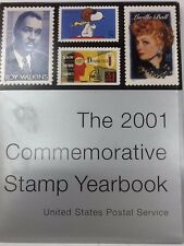 2001 COMMEMORATIVE STAMP YEARBOOK United States Post Office