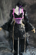 a-111 S/M/L/XL/XXL VOCALOID MIKU HATSUNE Cosplay Kostüm GOTHIC costume dress