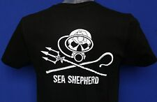 Unisex Sea Shepherd scuba dive jolly roger t-shirt