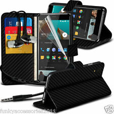 Leather Wallet Phone Case?In Ear Stereo Headset for OnePlus X