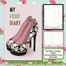 DIET DIARY BUDDY/NOTEBOOK/ WEIGHT LOSS/FOOD LOG /SLIMMING /DIET/ NEW YEAR (51)