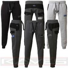 Mens Joggers Jogging Pants Max Edition Texas Slim Fit sweat tracksuit bottoms