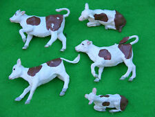 BRITAINS FARM MODELS, BROWN COW CALVES, MULTI-LISTING