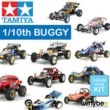 NEW TAMIYA 1/10th RADIO CONTROL BUGGY R/C BUILD YOURSELF KIT - CHOOSE YOUR KIT!